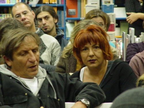 Stefano Bonaga e Grazia Verasani