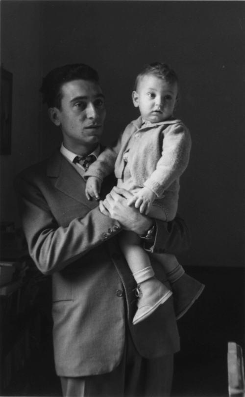 Luciano_con_ettore_1951